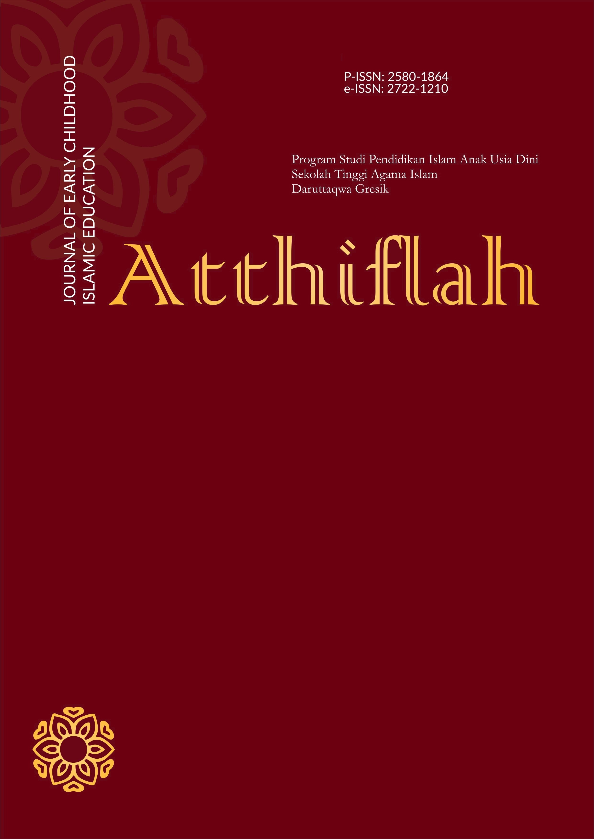 Atthiflah: Journal of Early Childhood Islamic Education